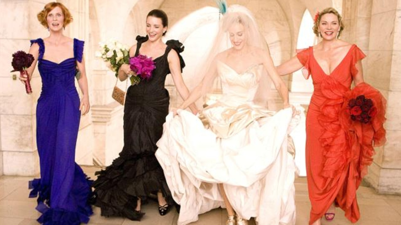Cynthia Nixon, Kristin Davis and Sarah Jessica Parker will be returning to reprise their roles, however Kim Cattrall won't be. Picture: New Line Cinema/courtesy Everett Collection