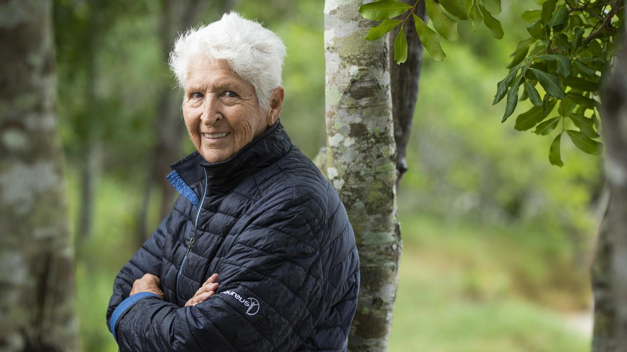 Dawn Fraser supports gay marriage and political correctness but does not believe in climate change. Picture: Lachie Millard.