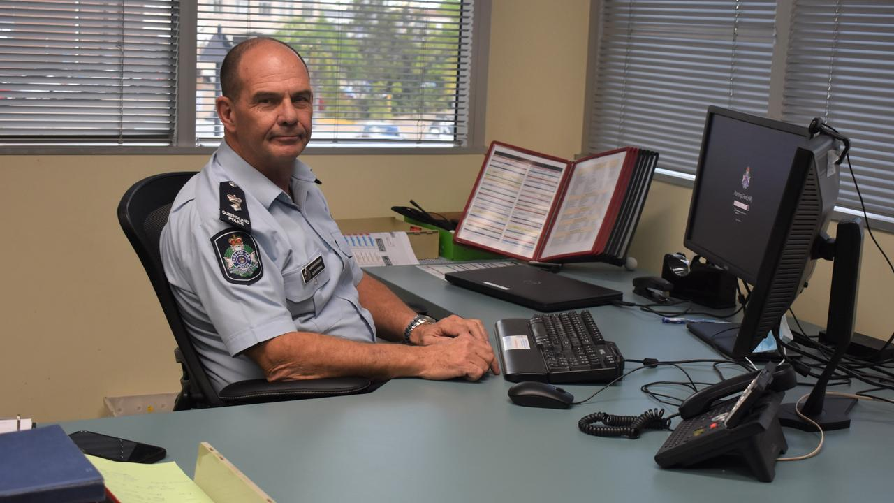 Superintendent Glen Pointing has taken on his new role at the Capricornia Police District.