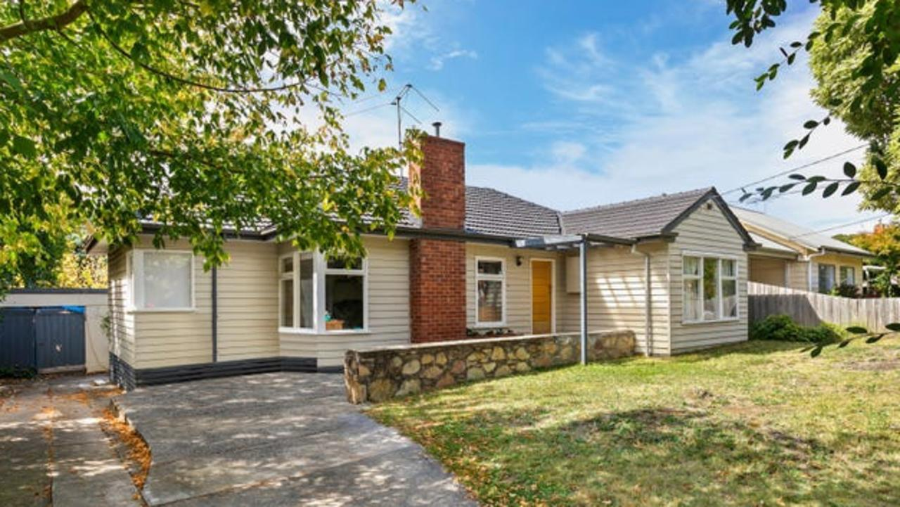Another deceased estate at 5 Langley Street, Ringwood East, sold for $1.35m in April.