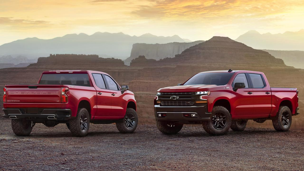 American-style pick-up trucks are hitting the road in record numbers.