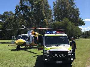 Man flown to hospital after red belly black snake bite