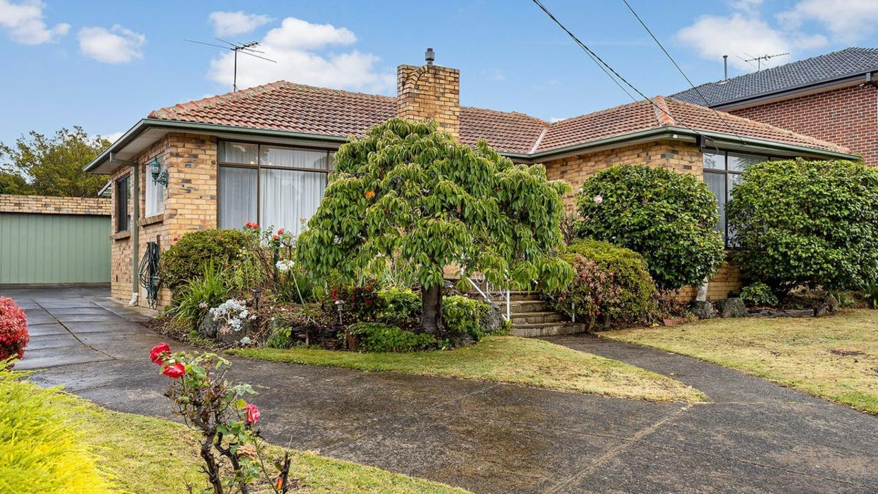 The dated home at 19 Lisbon Street Glen Waverley, sold for $2.741m.