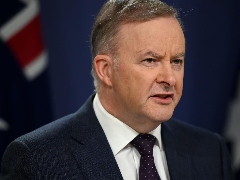 Opposition leader Anthony Albanese. Picture: Bianca De Marchi/NCA NewsWire