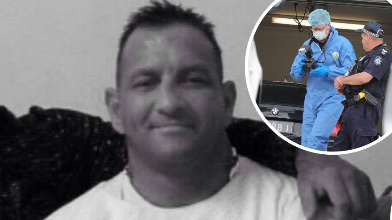 The identification used to buy the getaway cars involved in the execution-style murder of bikie Shane Bowden was stolen during a violent break-in.