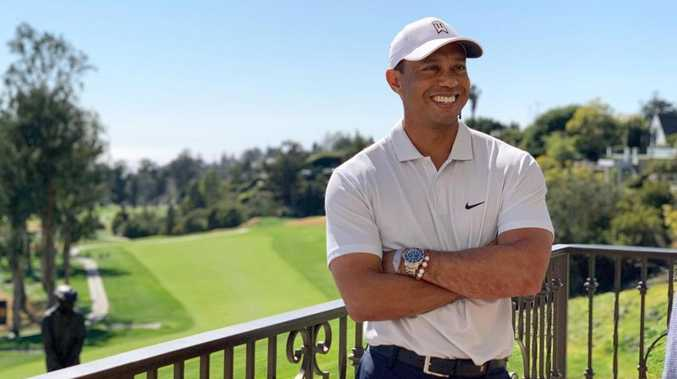 Photo sparks Tiger Woods guessing game