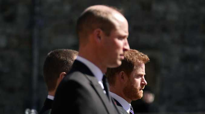 Harry and William, together apart