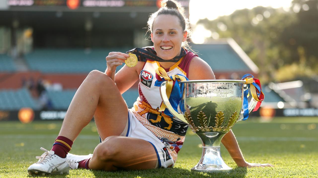 Retired Brisbane Lions captain Emma Zielke sets sights on AFLW coaching career