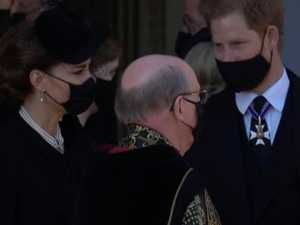 Kate takes charge as brothers meet