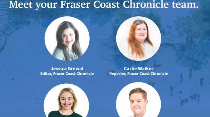 Fraser Coast Chronicle team passionate about your local news