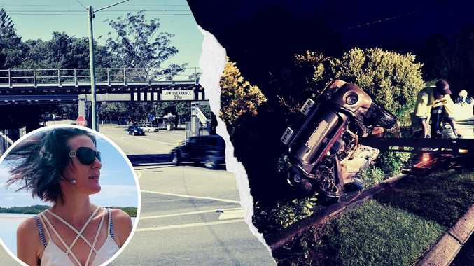 Mum's plea to fix roads after serious Palmwoods crash