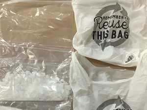 Police find 1kg illicit drug stash in routine traffic stop