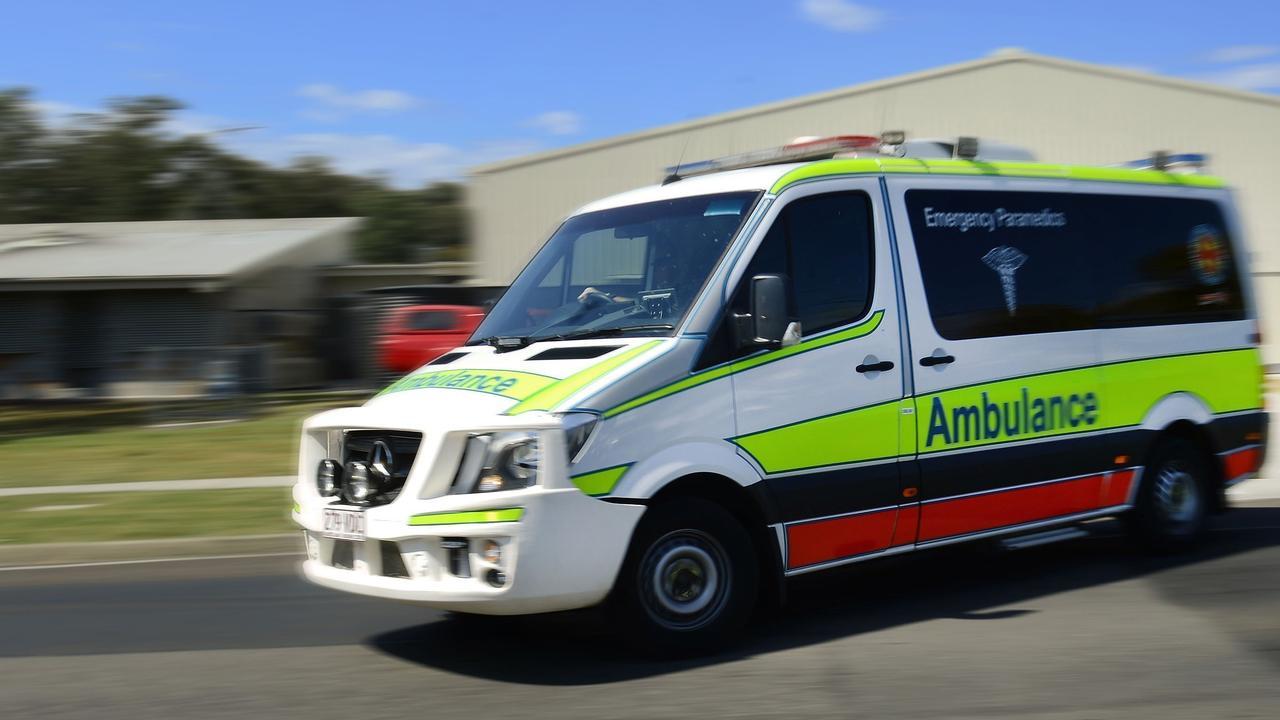 Paramedics were called to Mountain Creek on Monday morning.