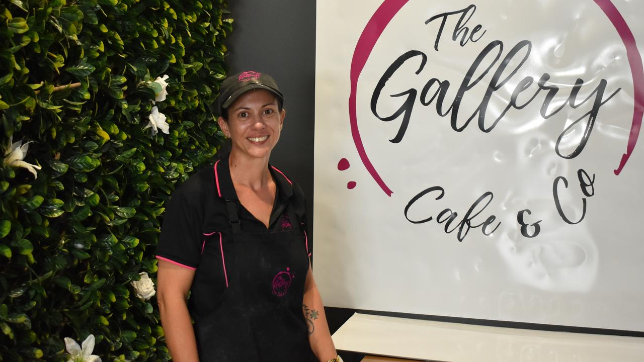 Gallery Lounge and Cafe manager Katrina Buhagiar inside the new Wood Street space - Gallery Cafe and Co.