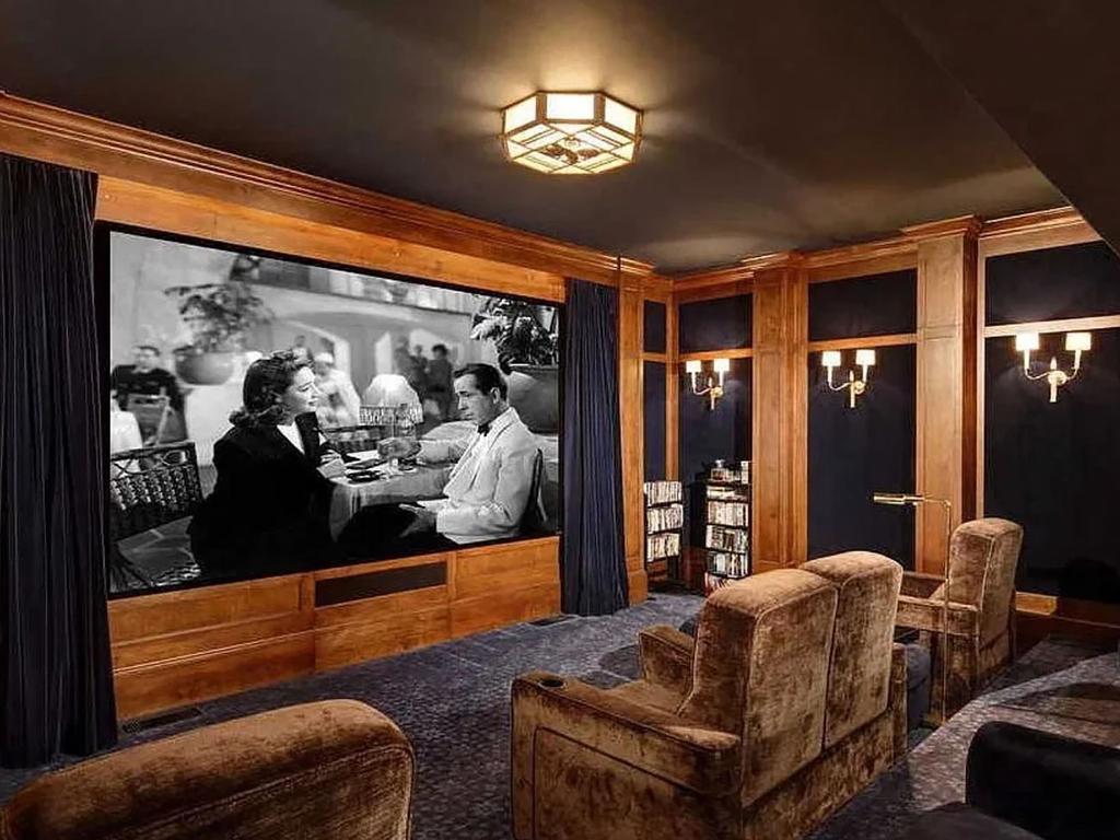 Inside Dwayne Johnson's palace. Photo: Zillow, BACKGRID.