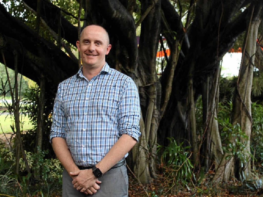Mackay Tourism CEO Tas Webber.