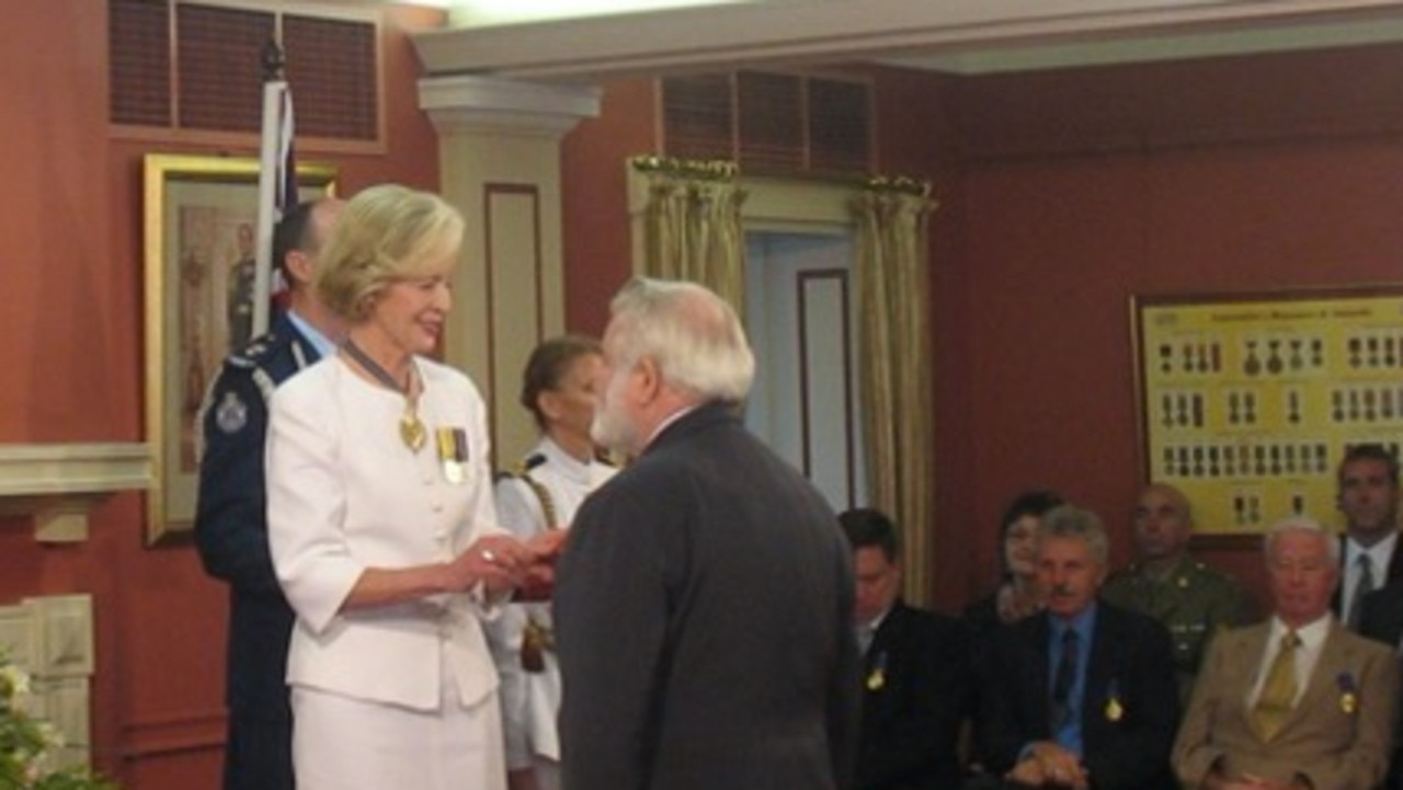Pastor Rowlands was awarded the Order of Australia in recognition of various humanitarian projects.