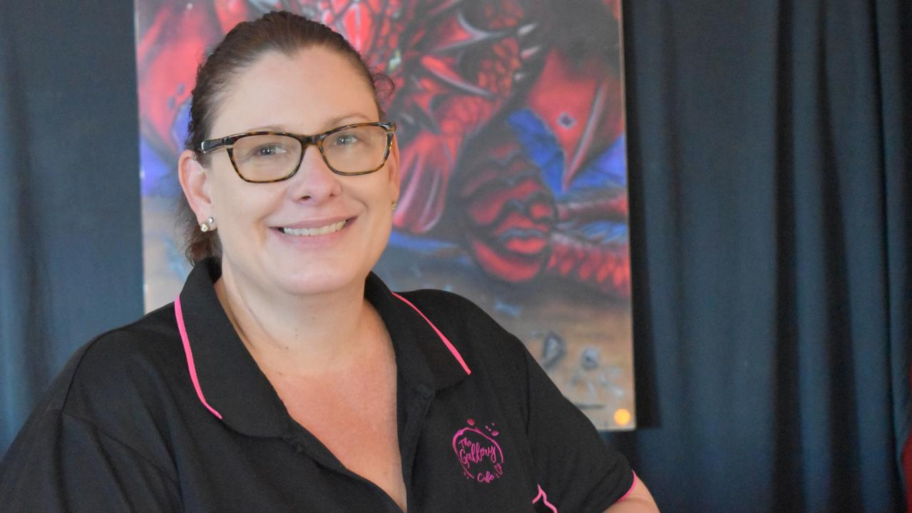 Gallery Lounge and Bar and Gallery Cafe and Co owner Cassandra Bettridge