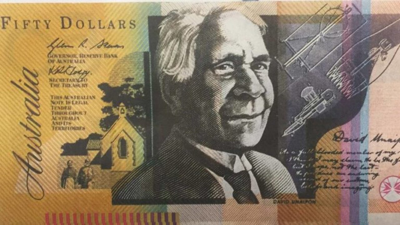 A man has been given a suspended jail term after pleading guilty to charges including possession of a fake $50 note. Image: File
