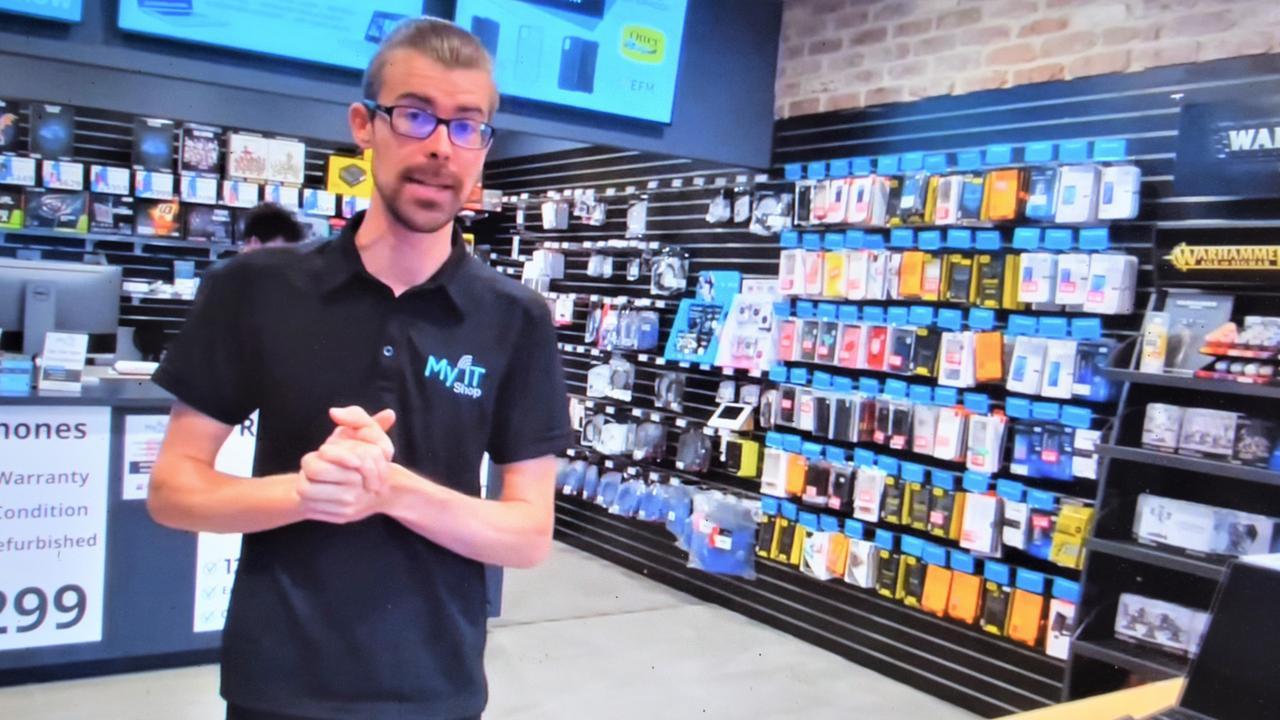 Braydan Willrath of My IT Shop Noosa is looking for customer savvy new staff members.