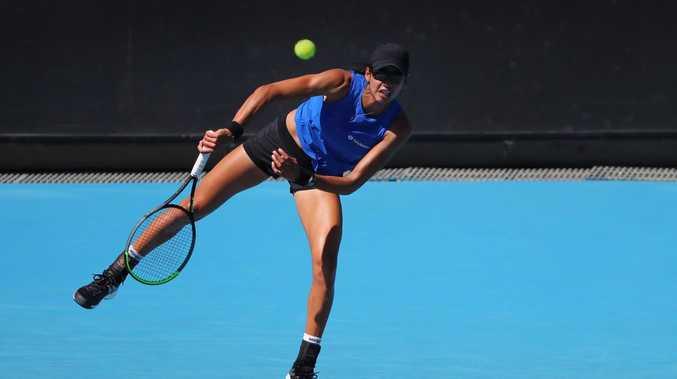 Aussie stuns tennis after umpire howler