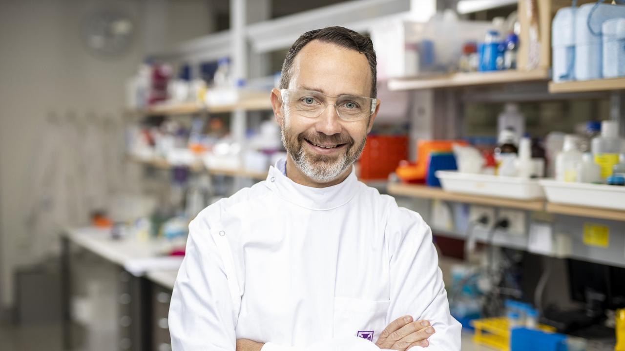 UQ COVID-19 vaccine project leader, Professor Trent Munro