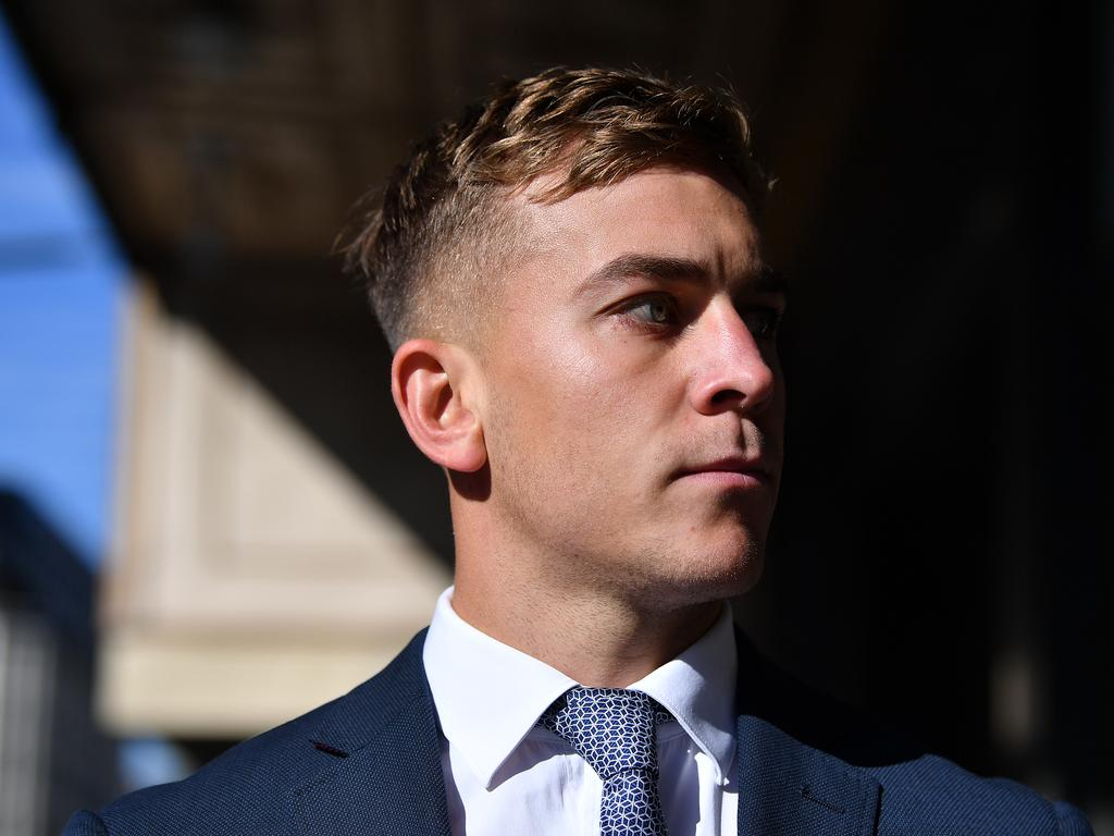 The court was told Mr de Belin and Callan Sinclair (pictured) had spent the day drinking at a friend's house. Picture: NCA NewsWire/Joel Carrett