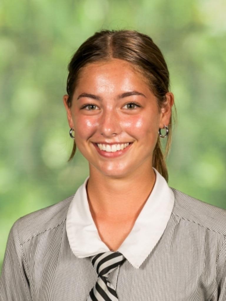Siena Catholic College student Sophie Peters