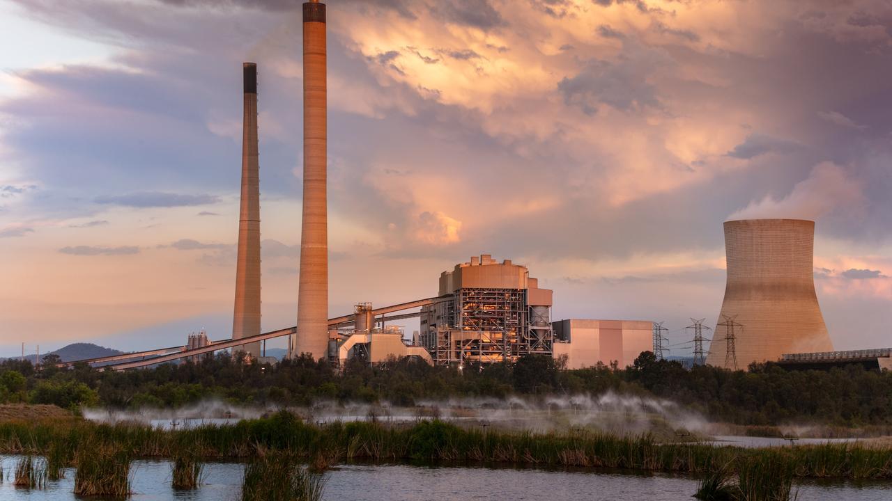 Callide Power Station at Biloela.
