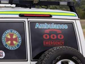 Two people taken to hospital following CQ crash