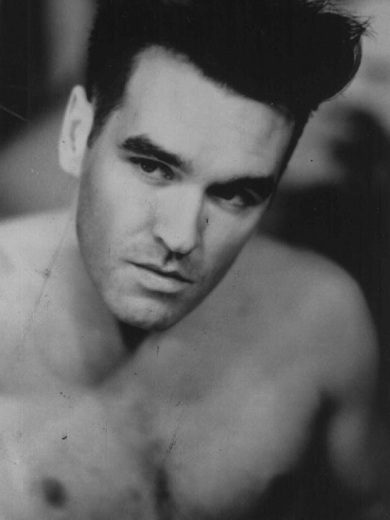 Morrissey in his 80s heyday...