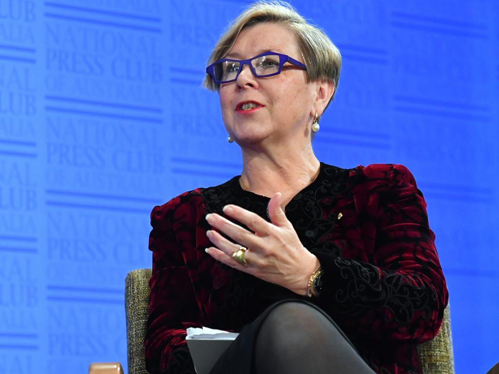 Jane Halton has spoken out about Australia's vaccine rollout. Picture: AAP Image/Mick Tsikas