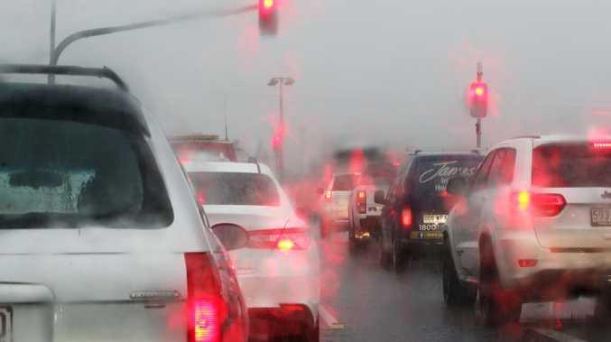 Roads shut as rainfall set to break records