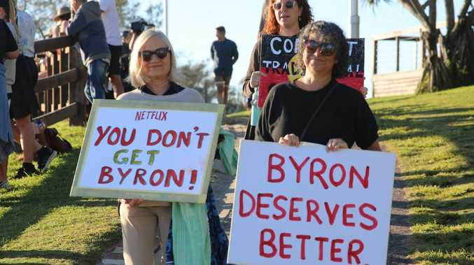 'Have some respect': Byron protests against reality show