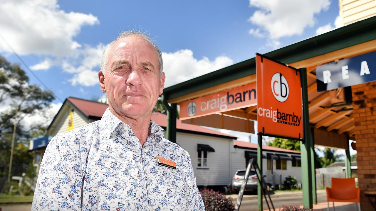 Craig Barnby from Craig Barnby Real Estate, Palmwoods. Picture: Patrick Woods.