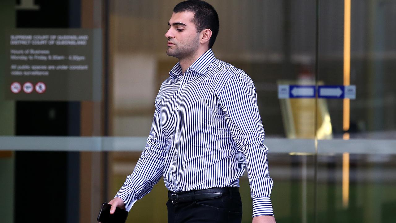 Ali Ebrahimi leaves the Brisbane Supreme court. Picture: NCA NewsWire /Jono Searle