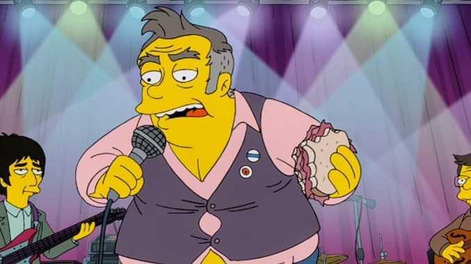 Star slams Simpsons for 'hateful' parody