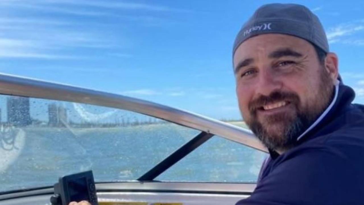 Merrimac State School principal Andrew Schumacher who died suddenly last week.
