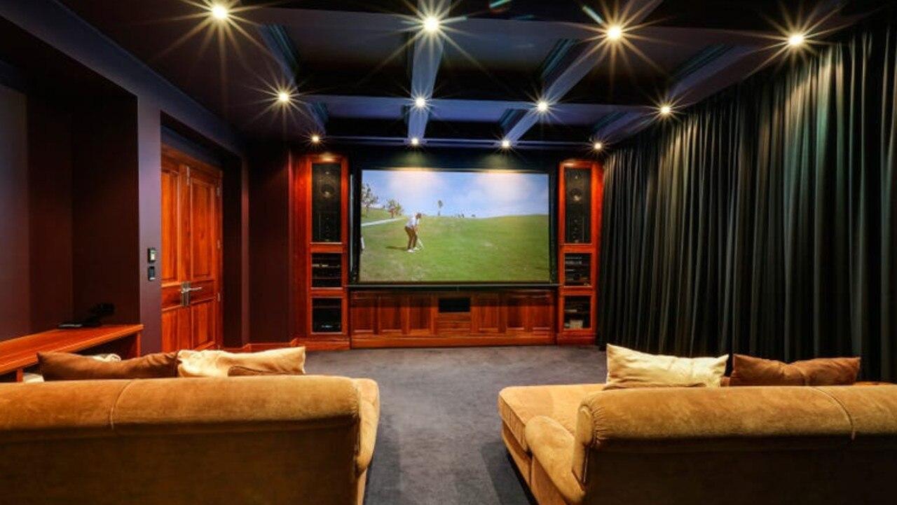 The home cinema.