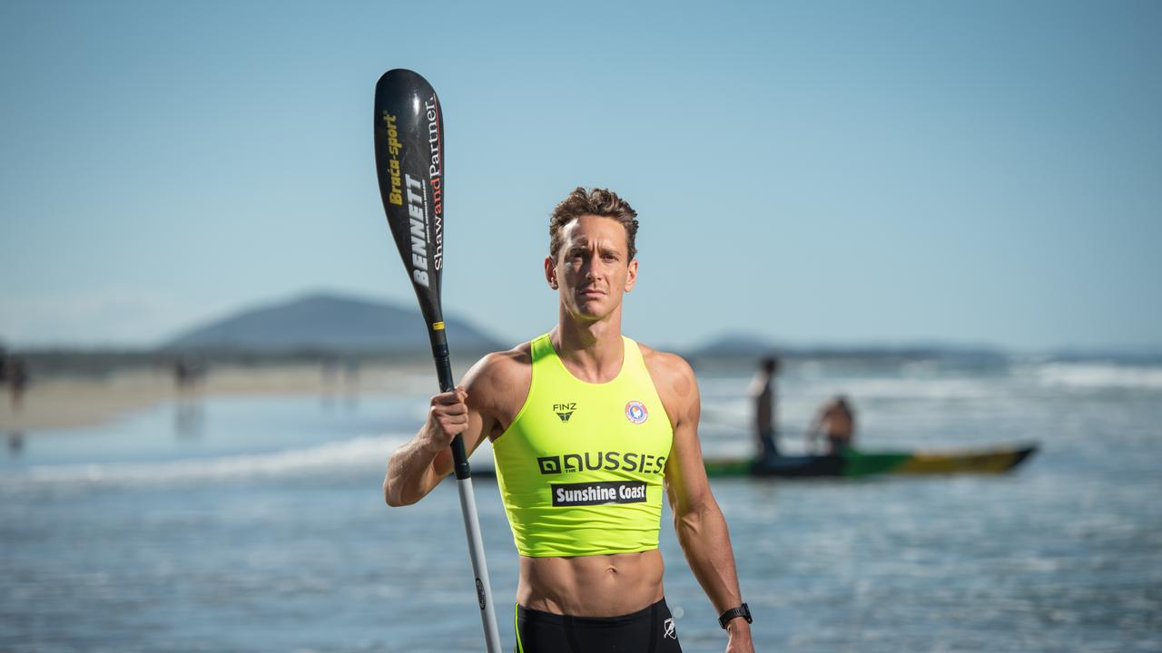 Ali Day is competing in the Australian Surf Life Saving Championships. Picture: Brad Fleet