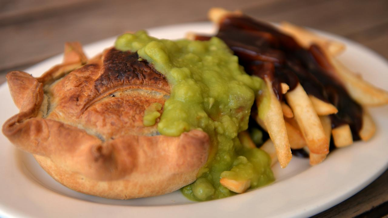 The famous Pinnacle Pie.