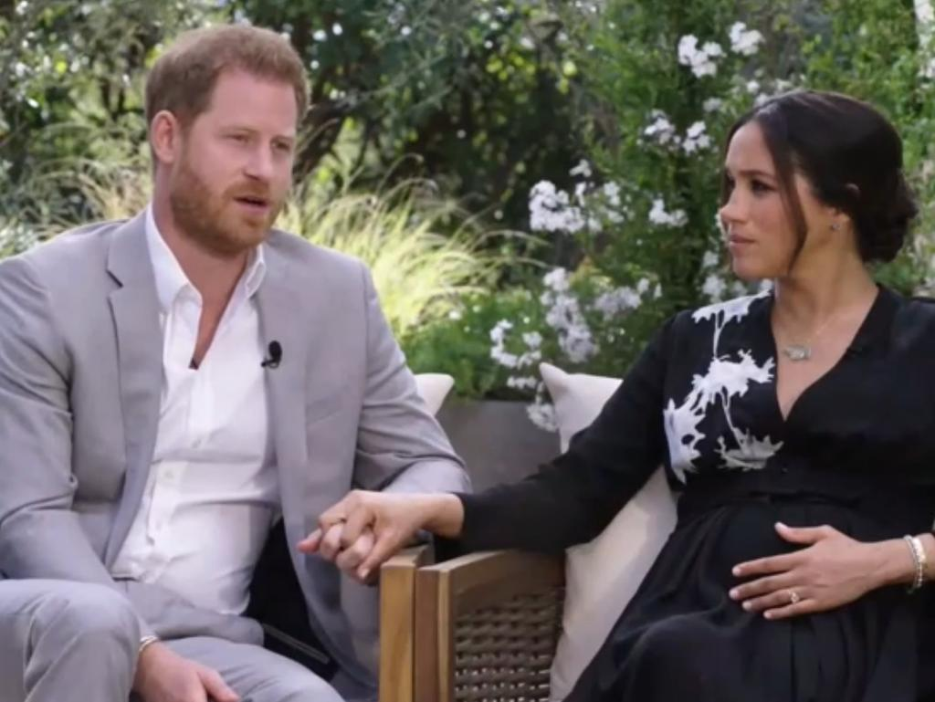 Prince Harry's suggested his father and brother were 'trapped' in royal life during his explosive interview with Oprah Winfrey.