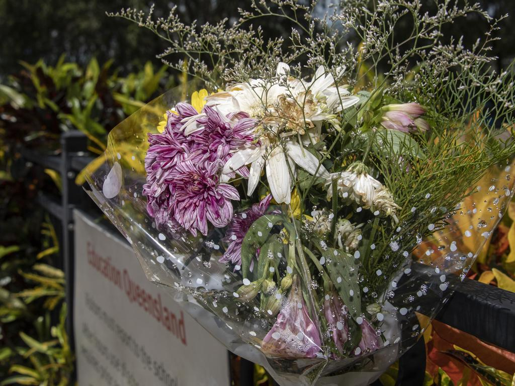Tributes were laid for the three-old-boy after his death. Picture: Brian Cassey/AAP