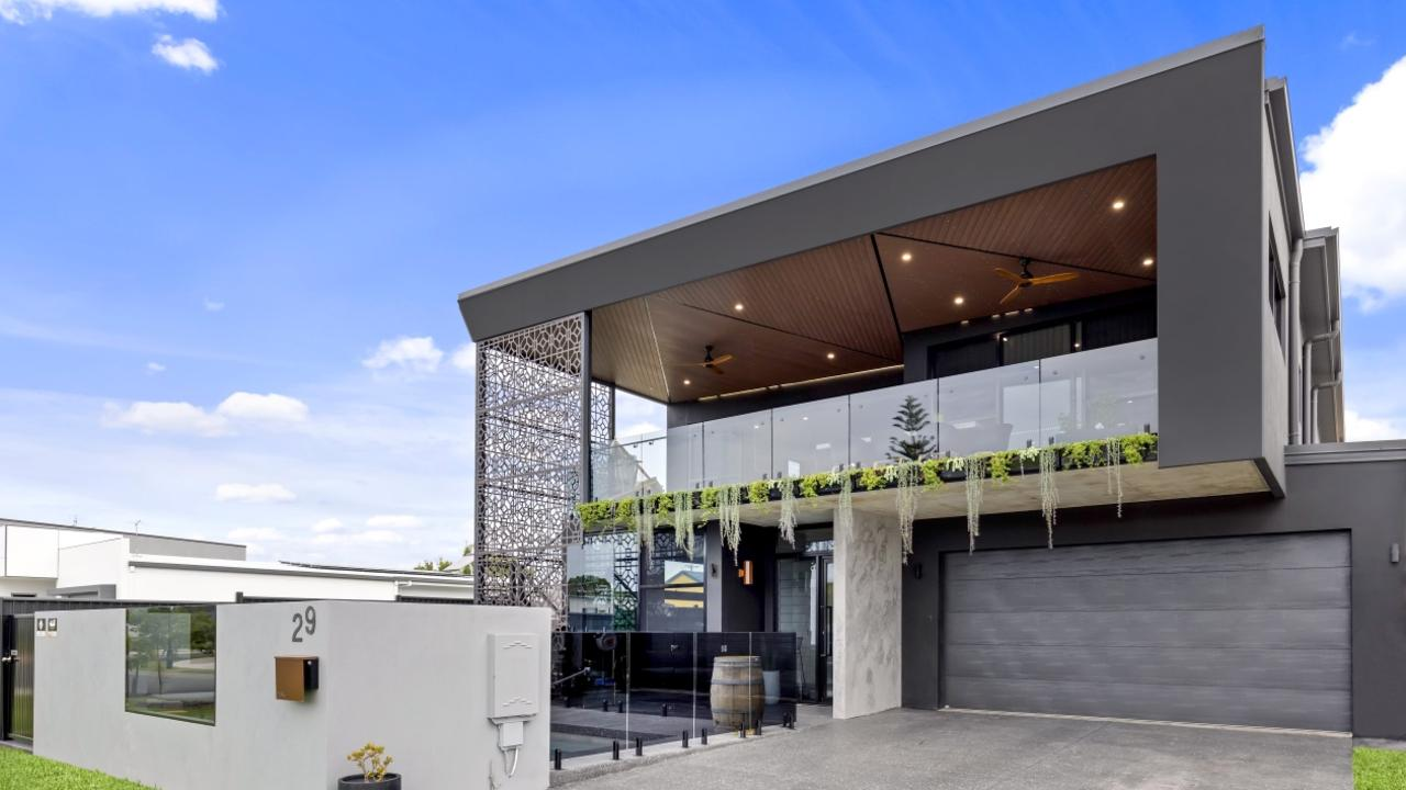 29 Marina View Drive in Pelican Waters has attracted a swarm of interest due to its