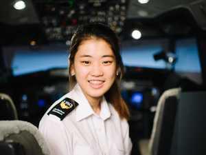Breaking barriers to fulfil dream job in the skies