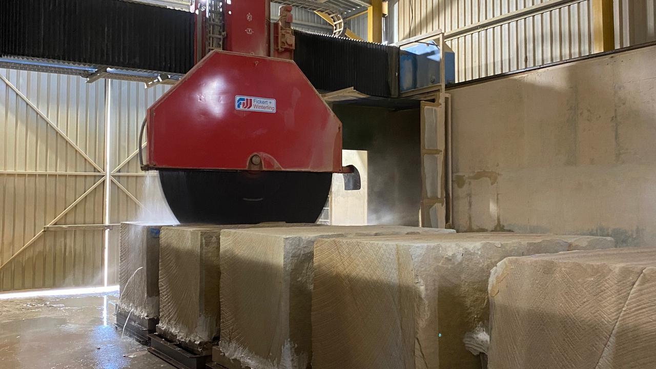 Made in Queensland recipient Stanwell's Capricorn Sandstone Quarries.