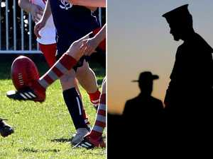 Vets say sport shouldn't be played Anzac Day