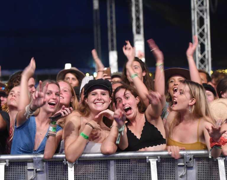 FESTIVAL RETURN?: Bluesfest crowds in 2018.