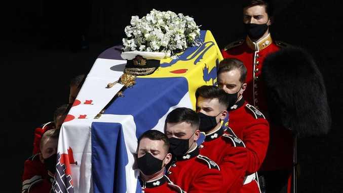 Aussie mum's shock watching funeral of Prince Philip