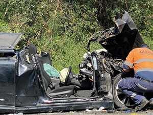 Crash driver does runner from hospital after horror smash